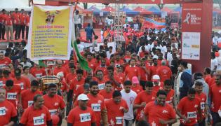 Aids Awareness Rally Held At Necklace Road Photo Gallery - Sakshi