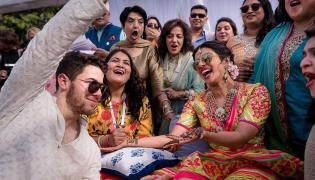 Priyanka Chopra And Nick Jonas Mehandi Ceremony Photo Gallery - Sakshi