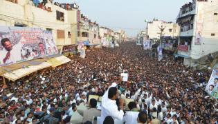YS Jagan PrajaSankalpaYatra public meeting tekkali photo gallery - Sakshi