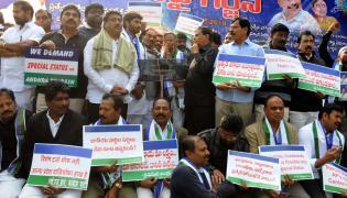 Vanchana Pai Garjana DEEKSHA AT YSRCP - Sakshi
