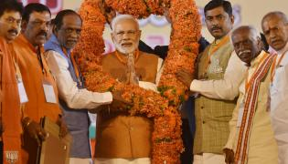 BJP Public Meeting In LB Stadium Photo Gallery - Sakshi