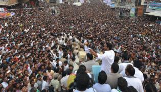 YS Jagan PrajaSankalpaYatra Public Meeting in Chilakapalem Photo Gallery - Sakshi