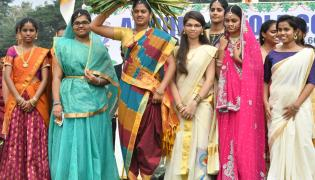 Traditional Andhra Loyola College Photo Gallery - Sakshi