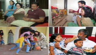 Telangana MLA Candidates With Families Photo Gallery - Sakshi