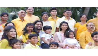 Allu Arjun Sankranthi Celebrations PHoto Gallery - Sakshi