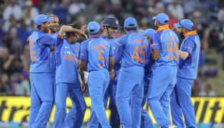 New Zealand Vs India Second One Day Photo Gallery - Sakshi