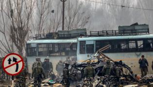 Terrorists Attack In CRPF jawans Pulwama Photo Gallery - Sakshi