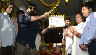 Ratsasan Telugu Remake Launch Stills Photo Gallery - Sakshi