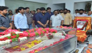 Telugu Film Industry Mourns the Death of Visionary Filmmaker Kodi Ramakrishna Photo Gallery - Sakshi