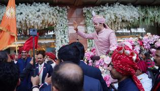 Akash Ambani Shloka Mehta wedding Photo Gallery - Sakshi