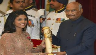 PRESIDENT KOVIND CONFERS PADMA AWARDS AT RASHTRAPATI BHAVAN Photo Gallery - Sakshi