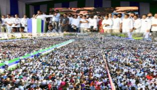 YS Jagan Samara Shankaravam in Kakinada Photo Gallery - Sakshi