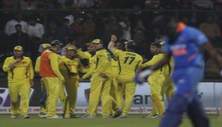 Australia win by 35 runs and clinch the series 3-2 Photo Gallery - Sakshi