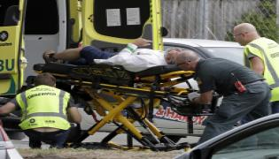 49 dead in terror attack at New Zealand Photo Gallery - Sakshi
