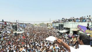 YS Jagan speech at Election campaign at Orvakal  - Sakshi