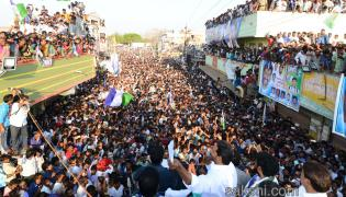ys jagan election campaign in Krishna district Avanigadda - Sakshi
