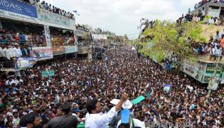 ys jagan election campaign in Koyyalagudem, West Godavari district - Sakshi