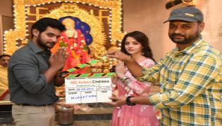 AADI Saikumar Vedhika Film launch Photo Gallery - Sakshi