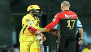 Chennai Super Kings beat Royal Challengers Bangalore by 7 wickets PHoto Gallery - Sakshi