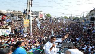 ys jagan election meeting In Chilakaluripet - Sakshi