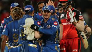 Mumbai Indians Vs Royal Challengers Bangalore Match Photo Gallery  - Sakshi