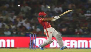 Rahul, Mayank lead Kings XI Punjab to eight-wicket win over  mumbai indians Photo Gallery - Sakshi