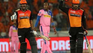 Rajasthan Royals Vs Sunrisers Hyderabad Match Photo Gallery - Sakshi