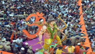 Sri Rama Navami shobha yatra at hyderabad Photo Gallery - Sakshi