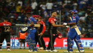mumbai indians beat  Royal Challengers Bangalore Photo Gallery - Sakshi