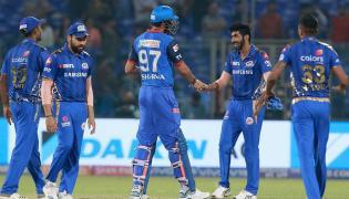 Delhi Capitals Vs Mumbai Indians IPL Match Photo Gallery - Sakshi