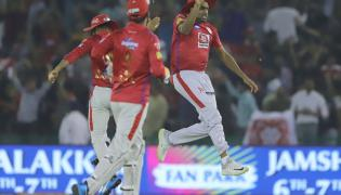 Kings XI Punjab beat Delhi Capitals by 14 runs - Sakshi