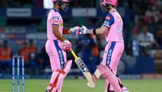 Rajasthan Royals and Mumbai Indians ipl Match photo Gallery - Sakshi
