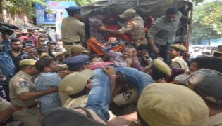 Students Protest At Nampally Inter Board Office PHoto Gallery - Sakshi