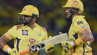 Chennai Super Kings Vs Sunrisers Hyderabad IPL Match Photo Gallery - Sakshi