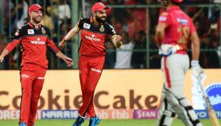 Royal Challengers Bangalore Vs Kings XI Punjab IPL Match Photo Gallery - Sakshi