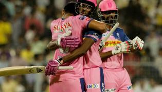 Rajasthan Royals Vs Kolkata Knight Riders IPL Match Photo Gallery - Sakshi