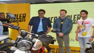 Venkatesh and Naga Chaitanya Launches Ducati Showroom Photo Gallery - Sakshi