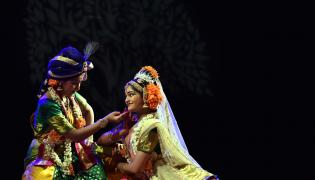 Kuchipudi dance in hyderabad ravedra bharathi Photo Gallery - Sakshi