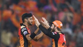 Sunrisers Hyderabad beats Kings XI Punjab by 45 runs Photo Gallery - Sakshi