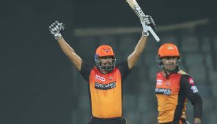 SunRisers Hyderabad To 5 Wicket Victory Over Delhi Capitals Photo Gallery - Sakshi