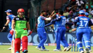 Delhi Capitals win by four wickets Photo Gallery - Sakshi