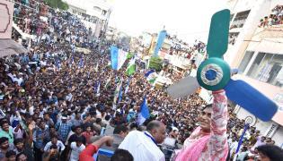 YS Sharmila public meeting at jaggayyapeta Photo Gallery  - Sakshi
