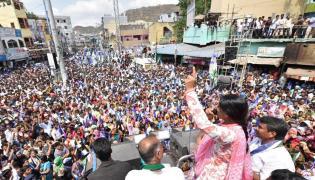 YS Sharmila Speech In Vijayawada Public Meeting Photo Gallery - Sakshi