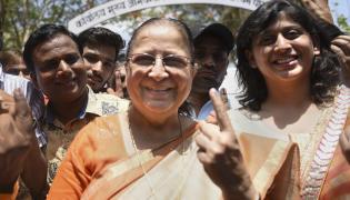 India votes in final phase of Lok Sabha Election Photo Gallery - Sakshi