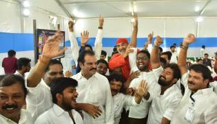 YSRCP Celebration in Ap Elections 2019 - Sakshi