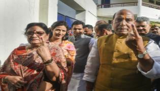 Lok Sabha elections 2019 phase 5 Photo Gallery  - Sakshi