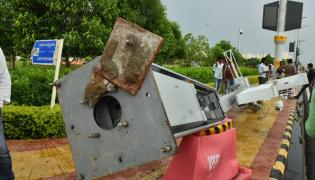 Heavy Air And Rain At AP Capital  - Sakshi