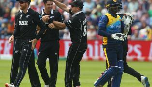 ICC World Cup New Zealand and Sri Lanka Match Photo Gallery - Sakshi