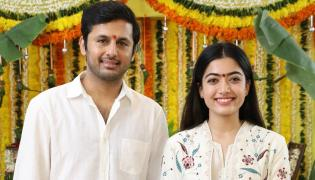 Nithiin AND Rashmika Mandanna Bheeshma movie launched Photo Gallery - Sakshi
