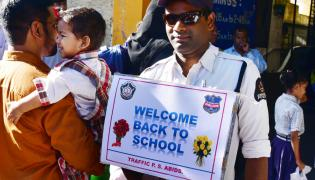 Schools Opening Today Photo Gallery - Sakshi